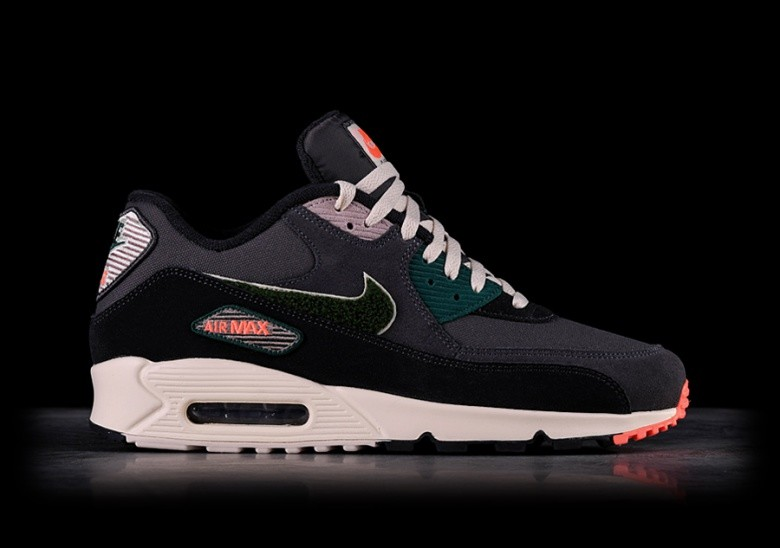 NIKE AIR MAX 90 PREMIUM SE OIL GREY