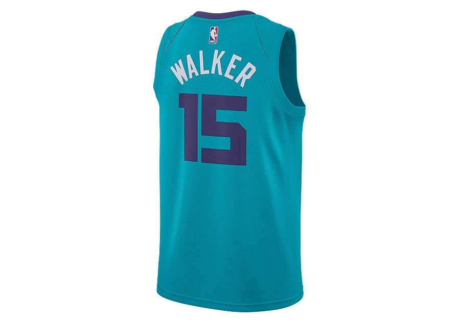 e349895075d NIKE AIR JORDAN CHARLOTTE HORNETS KEMBA WALKER SWINGMAN JERSEY RAPID TEAL  price €77.50 | Basketzone.net