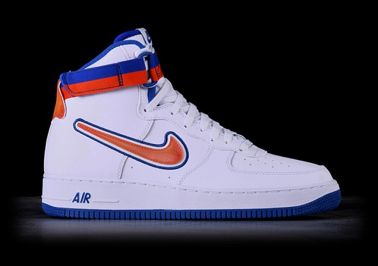 new styles ee407 1099a NIKE AIR FORCE 1 HIGH  07 LV8 SPORT NBA KNICKS