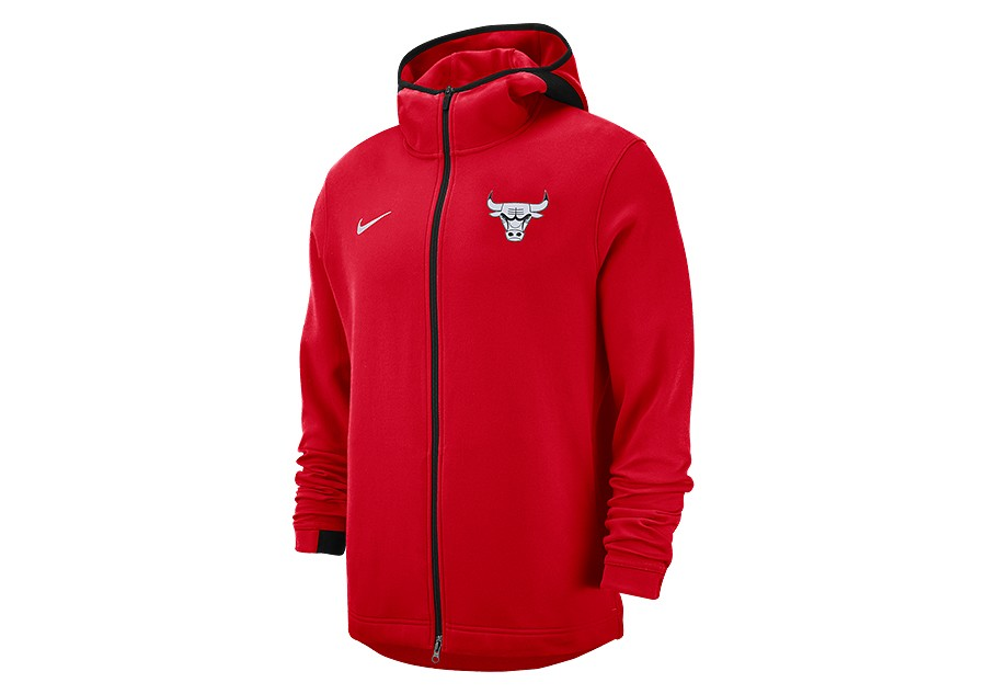 NIKE NBA CHICAGO BULLS SHOWTIME DRY HOODIE UNIVERSITY RED pour €89 ... 82f1fd543a4