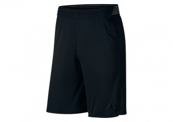 NIKE AIR JORDAN ULTIMATE FLIGHT PRACTICE SHORTS BLACK
