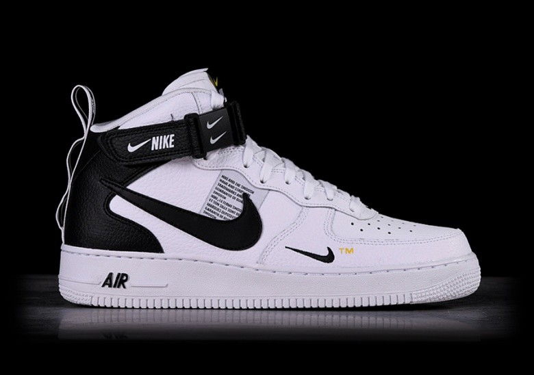 Sneakers Sale Nike Air Force 1 Mid ´07 Black White Gum