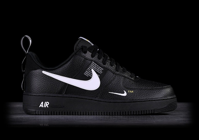 best service 93cbe a2b60 NIKE AIR FORCE 1 07 LV8 UTILITY BLACK