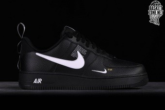 preferible hoy Perceptible  NIKE AIR FORCE 1 '07 LV8 UTILITY BLACK price €102.50 | Basketzone.net