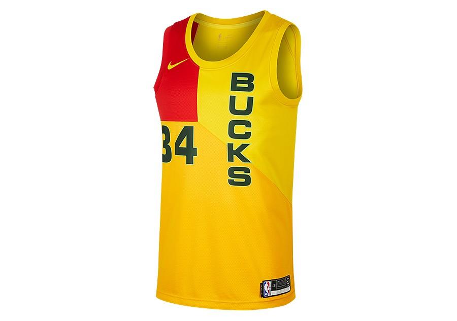 lowest price 60435 830a7 NIKE NBA MILWAUKEE BUCKS GIANNIS ANTETOKOUNMPO SWINGMAN ...
