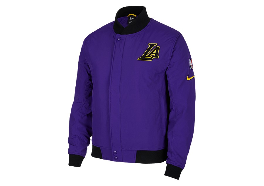 NIKE NBA LOS ANGELES LAKERS COURTSIDE JACKET FIELD PURPLE price €189.00  bc57c7f12