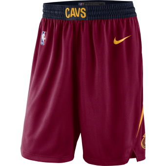 NIKE NBA CLEVELAND CAVALIERS SWINGMAN ROAD SHORTS