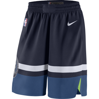 NIKE NBA MINNESOTA TIMBERWOLVES SWINGMAN ROAD SHORTS