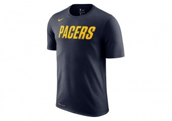 NIKE NBA INDIANA PACERS DRY TEE COLLEGE NAVY