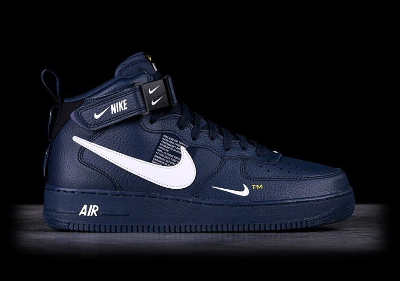best loved b2dc9 a22cc NIKE AIR FORCE 1 MID  07 LV8 OBSIDIAN