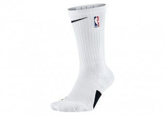 NIKE ELITE CREW - NBA SOCKS WHITE