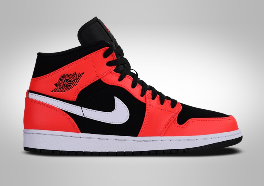 new product a9580 beac1 NIKE AIR JORDAN 1 RETRO MID INFRARED