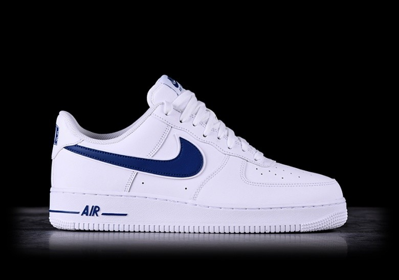 premium selection b034a bb0ef NIKE AIR FORCE 1  07 3 WHITE DEEP ROYAL