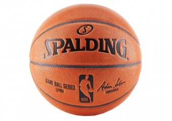 SPALDING NBA GAMEBALL REPLICA OUTDOOR (SIZE 7) ORANGE