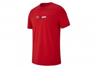 NIKE AIR JORDAN THE MAN TEE GYM RED