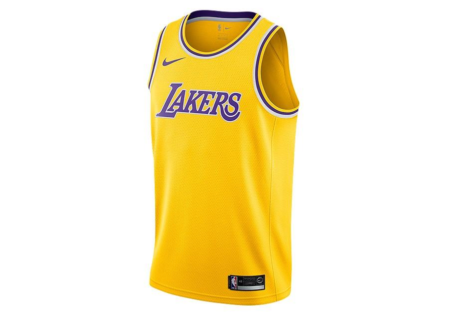 ba3ab8e570c35 NIKE NBA LOS ANGELES LAKERS SWINGMAN ROAD JERSEY AMARILLO pour €77,50 |  Basketzone.net