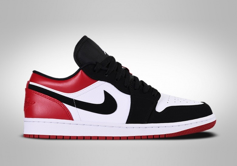 NIKE AIR JORDAN 1 RETRO LOW BLACK TOE