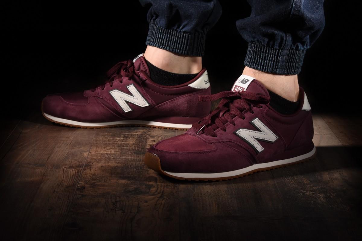 burgundy new balance 420 size 6