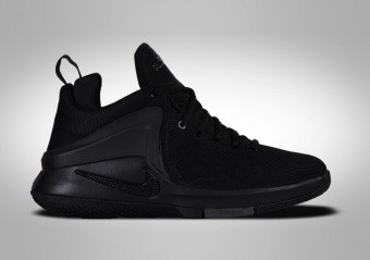 NIKE LEBRON ZOOM WITNESS (GS) BLACK