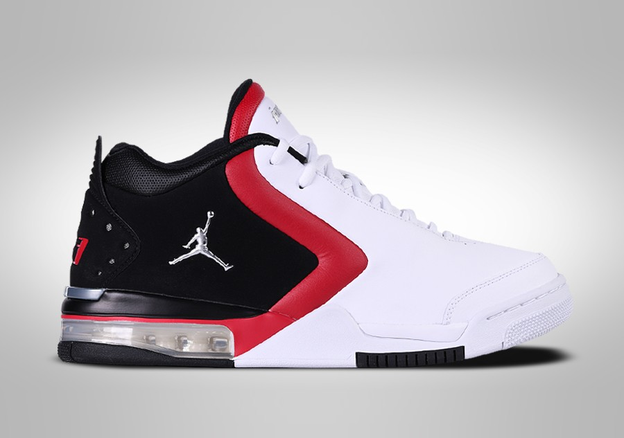 NIKE AIR JORDAN BIG FUND BLACK RED WHITE GS