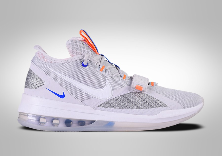 NIKE AIR FORCE MAX LOW WOLF GREY TOTAL ORANGE pour €112,50