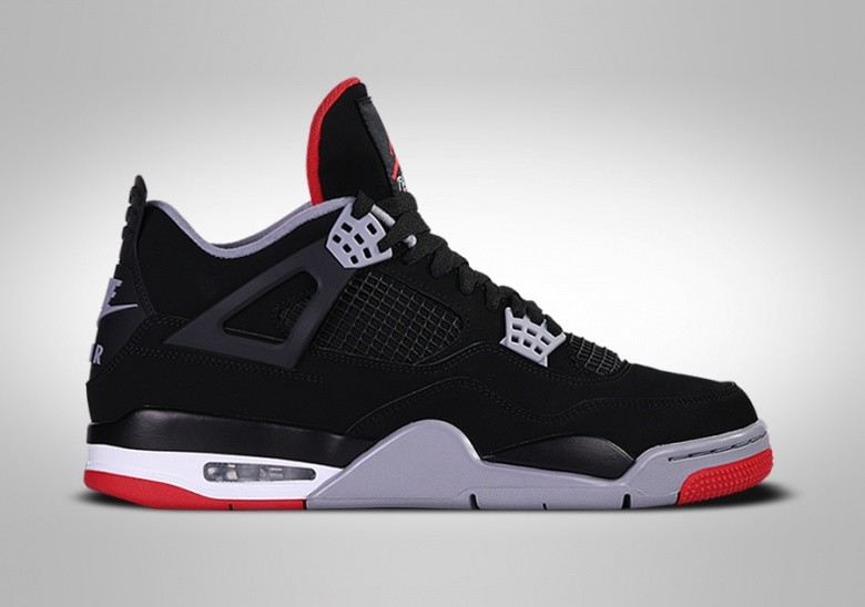 NIKE AIR JORDAN 4 RETRO BRED