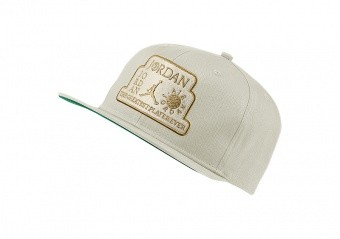 NIKE AIR JORDAN PRO TROPHY HAT LIGHT BONE