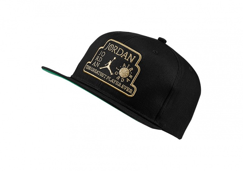 NIKE AIR JORDAN PRO TROPHY CAP BLACK
