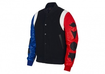 NIKE AIR JORDAN SPORT DNA VARSITY JACKET BLACK