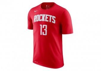 NIKE NBA HOUSTON ROCKETS Dri-FIT TEE UNIVERSITY RED