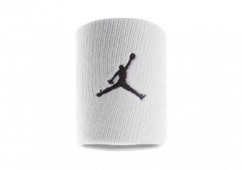 NIKE AIR JORDAN JUMPMAN WRISTBANDS WHITE