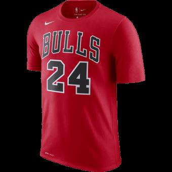 NIKE NBA CHICAGO BULLS LAURI MARKKANEN Dri-FIT TEE