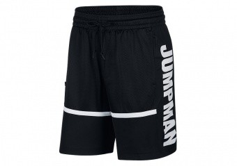 NIKE AIR JORDAN JUMPMAN BASKETBALL SHORTS BLACK