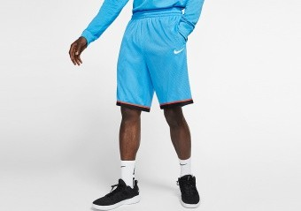 NIKE DRI-FIT CLASSIC BASKETBALL SHORTS COAST