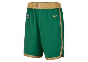 NIKE NBA BOSTON CELTICS SWINGMAN SHORTS CLOVER