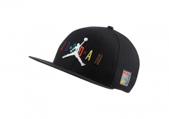 NIKE AIR JORDAN PRO SPORT DNA WOVEN CAP BLACK
