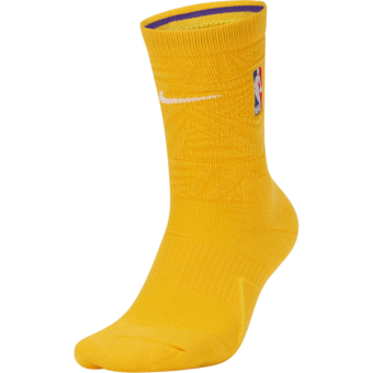 NIKE NBA LOS ANGELES LAKERS CITY EDITION SOCKS
