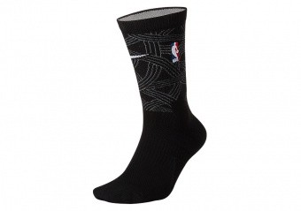 NIKE NBA GOLDEN STATE WARRIORS CITY EDITION SOCKS BLACK