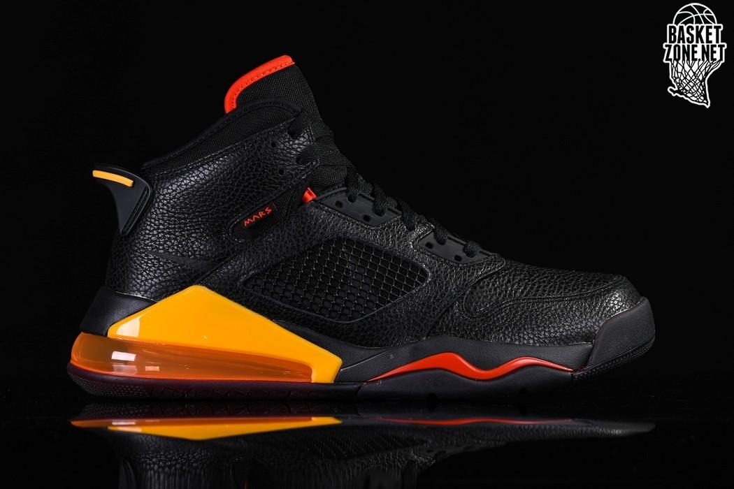 Nike Air Jordan Mars 270 Basketball Shoes Mens 11.5 Black Green Glow CD7070 003