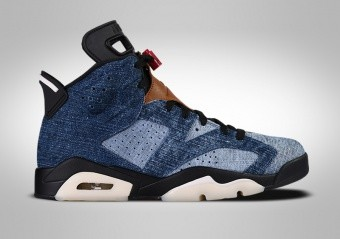 NIKE AIR JORDAN 6 RETRO WASHED DENIM