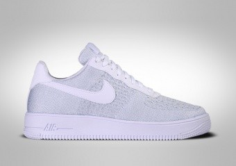 NIKE AIR FORCE 1 LOW FLYKNIT 2.0 PURE PLATINIUM