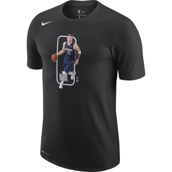 NIKE NBA DALLAS MAVERICKS LUKA DONČIĆ PLAYER LOGO DRI-FIT TEE