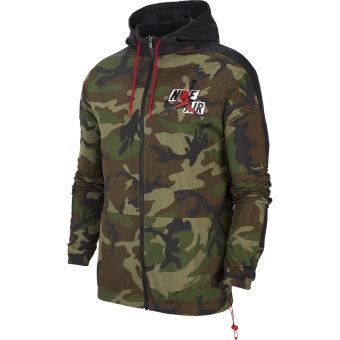 JORDAN JUMPMAN CALSSICS CAMO WINDBREAKER JACKET
