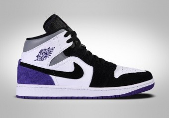 NIKE AIR JORDAN 1 RETRO MID SE COURT PURPLE