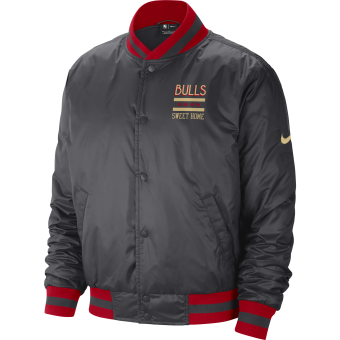 NIKE NBA CHICAGO BULLS CITY EDITION COURTSIDE JACKET
