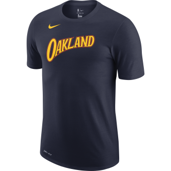 NIKE NBA GOLDEN STATE WARRIORS CITY EDITION LOGO DRI-FIT TEE
