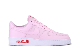 NIKE AIR FORCE 1 LOW THANK YOU PLASTIC BAG PINK FOAM