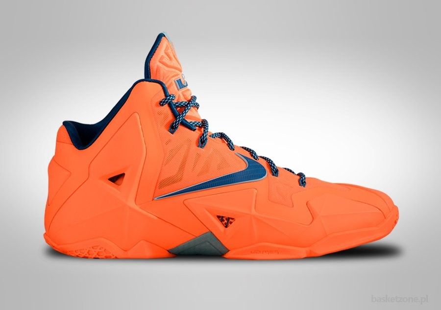 NIKE LEBRON XI ATOMIC ORANGE