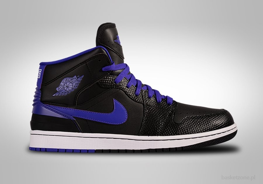 NIKE AIR JORDAN 1 RETRO '86 BLACK GRAPE