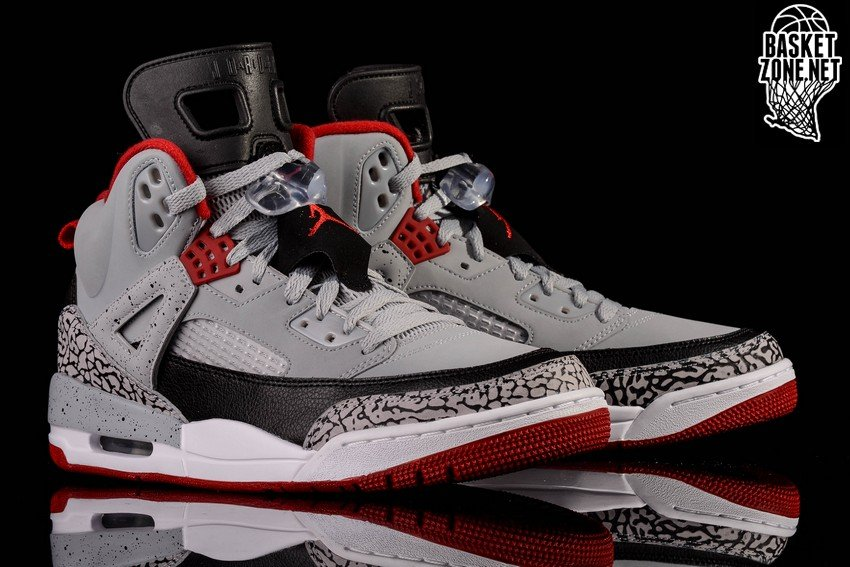 brand new d0f3e 0e175 NIKE AIR JORDAN SPIZIKE WOLF GREY GYM RED CEMENT